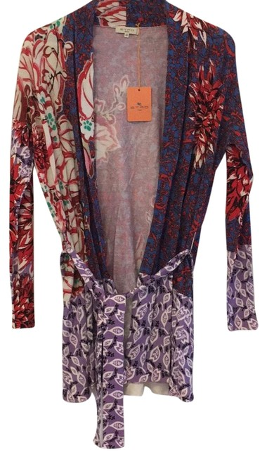 Preload https://item2.tradesy.com/images/etro-multi-red-pink-purple-blue-green-ivory-robe-with-tie-waist-cardigan-size-8-m-22855086-0-1.jpg?width=400&height=650