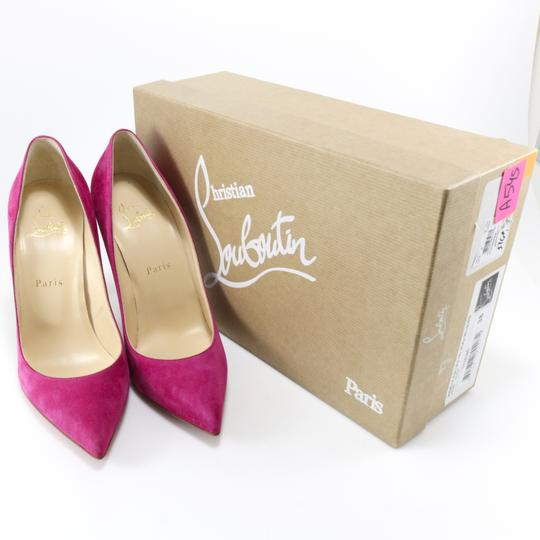 Christian Louboutin Pigalle Follies Classic Valentine's Day rosa pink Pumps