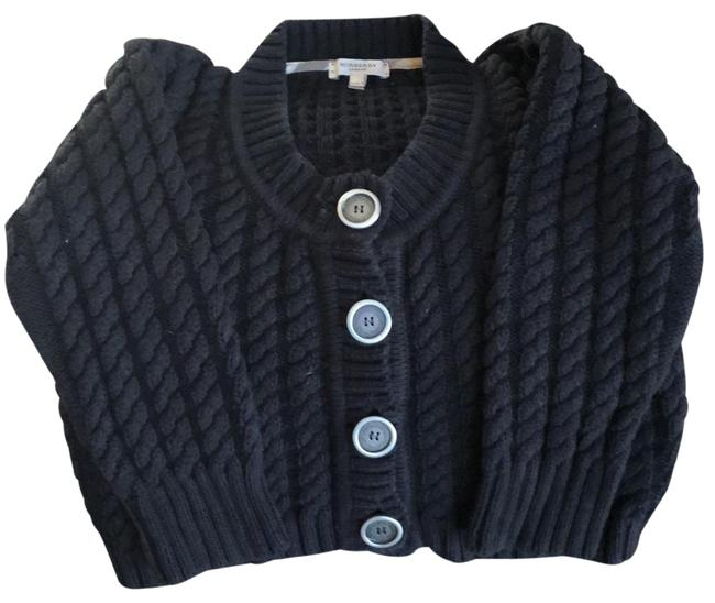 Preload https://item2.tradesy.com/images/burberry-london-black-button-down-shrug-sweaterpullover-size-0-xs-22855156-0-1.jpg?width=400&height=650