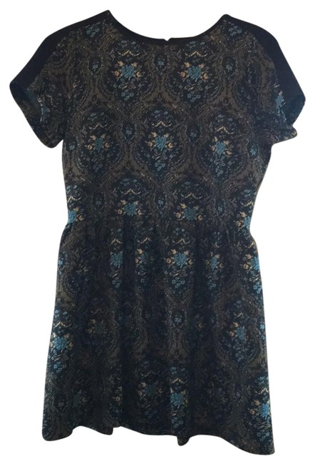 Preload https://img-static.tradesy.com/item/22855170/river-island-floral-mid-length-workoffice-dress-size-16-xl-plus-0x-0-1-650-650.jpg