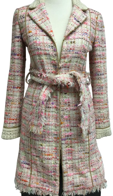 Preload https://img-static.tradesy.com/item/22855186/chanel-pink-and-cream-tweed-long-belted-spring-jacket-size-2-xs-0-2-650-650.jpg
