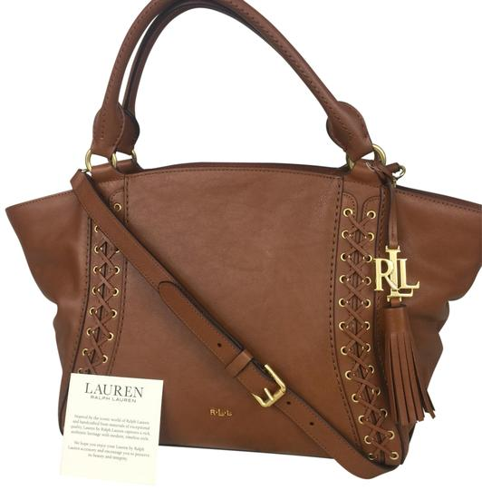 Preload https://img-static.tradesy.com/item/22855228/lauren-ralph-lauren-women-s-shoulder-brown-leather-satchel-0-4-540-540.jpg