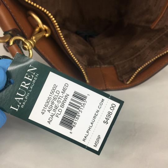Lauren Ralph Lauren Satchel in brown