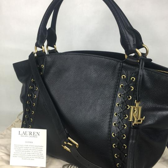 Lauren Ralph Lauren Satchel in black