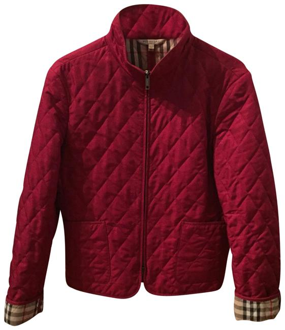 Item - Magenta Quilted Jacket Size 8 (M)