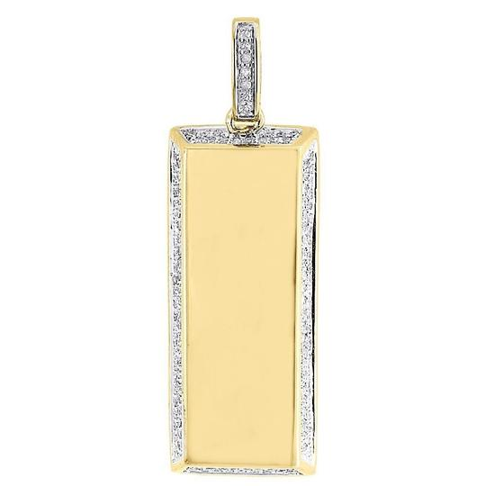 Preload https://item2.tradesy.com/images/jewelry-for-less-yellow-round-diamond-bar-pendant-925-sterling-silver-dog-tag-055-ct-charm-22855271-0-0.jpg?width=440&height=440