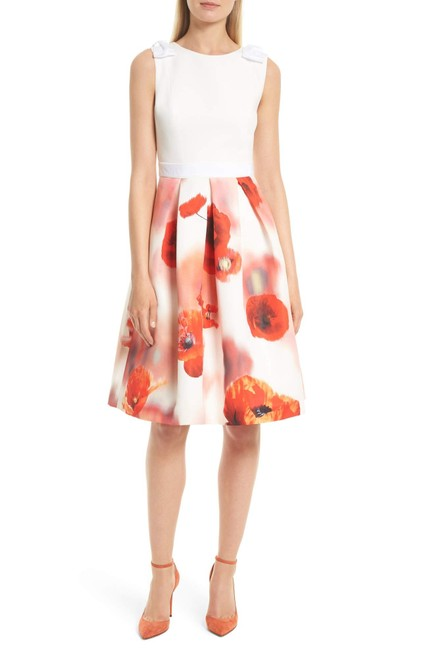 Preload https://img-static.tradesy.com/item/22855312/ted-baker-white-micla-playful-poppy-bow-mid-length-workoffice-dress-size-8-m-0-0-650-650.jpg