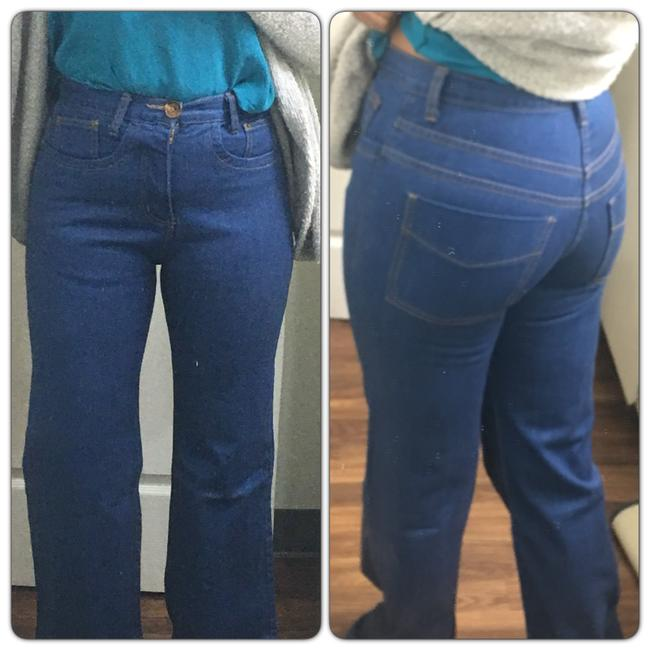 Preload https://img-static.tradesy.com/item/22855337/grey-ant-blue-medium-wash-high-waist-trouserwide-leg-jeans-size-30-6-m-0-0-650-650.jpg