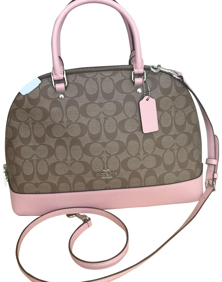 4dd016094b7 Coach Sierra Mini In Signature Multicolor Coated Canvas Satchel ...