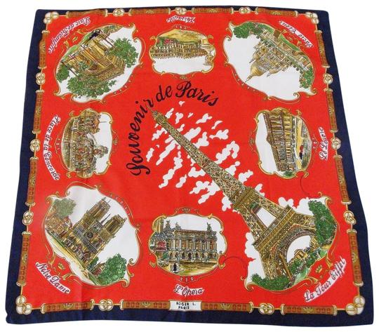 Preload https://img-static.tradesy.com/item/22855362/multi-color-souvenir-of-paris-landmarks-new-vintage-kerchief-scarfwrap-0-1-540-540.jpg
