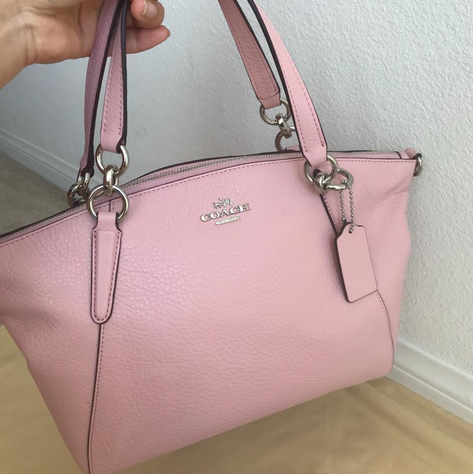 8a90f653 Coach Kelsey Small F26917 Pink Leather Satchel 42% off retail