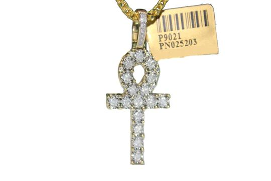 Preload https://item2.tradesy.com/images/diamond-10-k-yellow-gold-franco-chain-with-ankh-charm-pendant-necklace-22855381-0-0.jpg?width=440&height=440