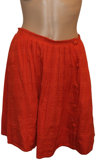 Preload https://img-static.tradesy.com/item/22855475/anthropologie-orange-miniskirt-size-4-s-27-0-1-650-650.jpg