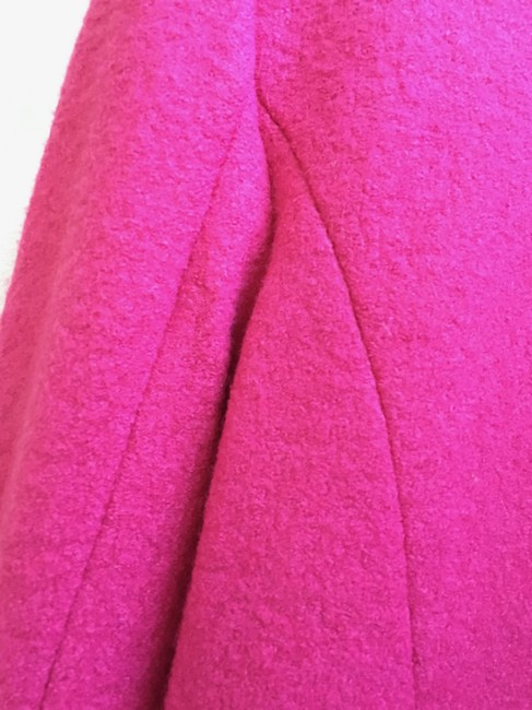 Lands' End Hot Wool Rayon Polyester Pink Jacket
