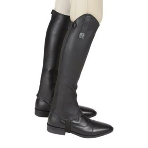 Huntley Equestrian Black Boots