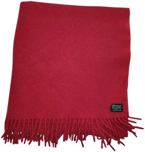 lambswool Lambswool burgundy 64 x 29 scarf shawl blanket throw