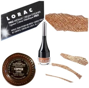 LORAC Lorac Pro Metallic Cream Eyeliner, In Copper