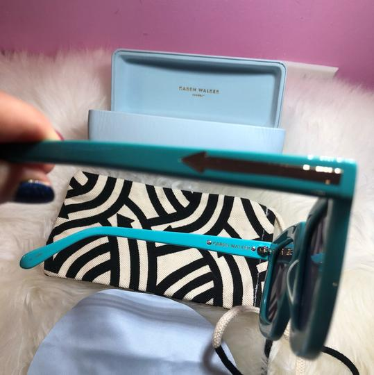 Karen Walker Karen Walker Tiffany blue color sunglasses