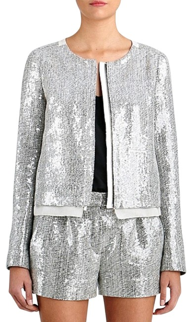 Preload https://img-static.tradesy.com/item/22855710/diane-von-furstenberg-gray-dvf-tamali-crystal-sequin-jacket-classic-tweed-shorts-suit-size-12-l-0-1-650-650.jpg