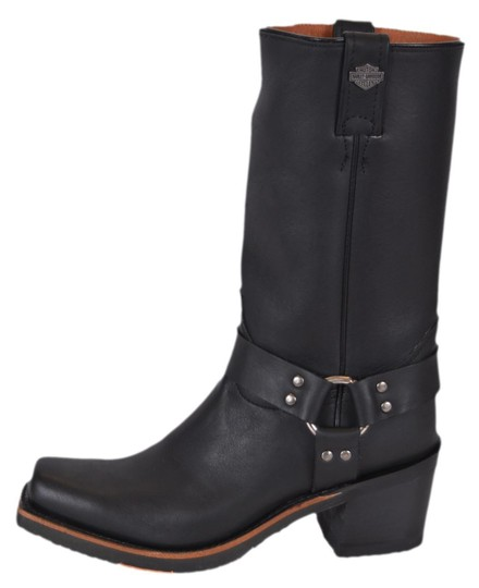 Harley Davidson Riding Motorcycle Black Boots