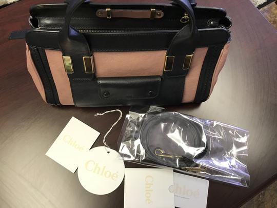 Chloé Satchel in Pink black