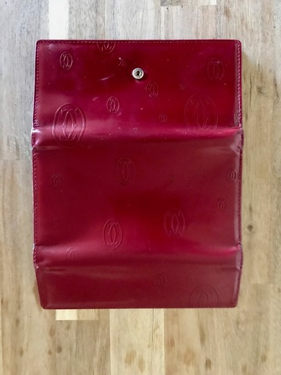 Cartier Purse Italy red Clutch