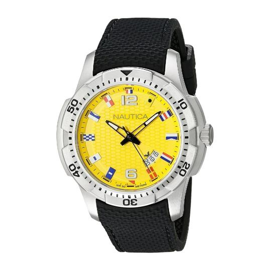 Preload https://item3.tradesy.com/images/nautica-multicolor-men-s-flag-analog-display-black-silicone-nad13516g-watch-22855802-0-0.jpg?width=440&height=440
