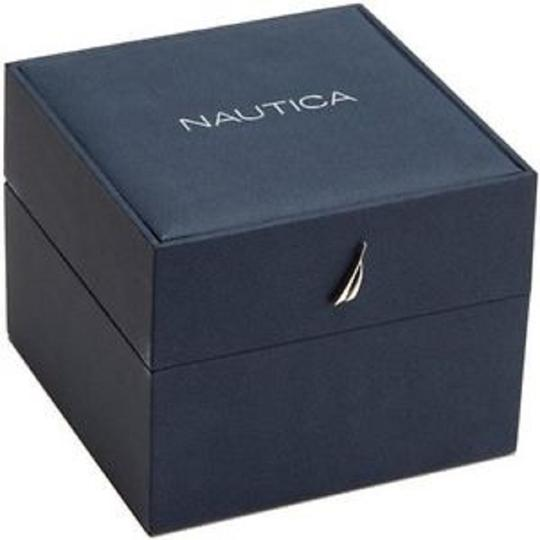 Nautica Men's Nautica Flag Analog Display Black Silicone Watch NAD13516G