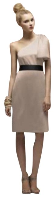 Preload https://img-static.tradesy.com/item/22855870/lela-rose-beige-170-short-night-out-dress-size-12-l-0-1-650-650.jpg