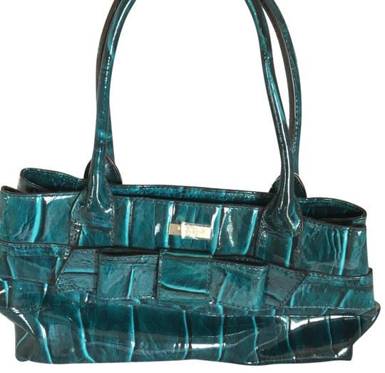 Preload https://img-static.tradesy.com/item/22855937/kate-spade-elena-knightsbridge-dark-teal-tote-0-1-540-540.jpg