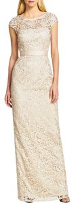 Adrianna Papell Lace Belted Dress