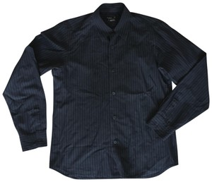 agnès b. Button Down Shirt Black - item med img
