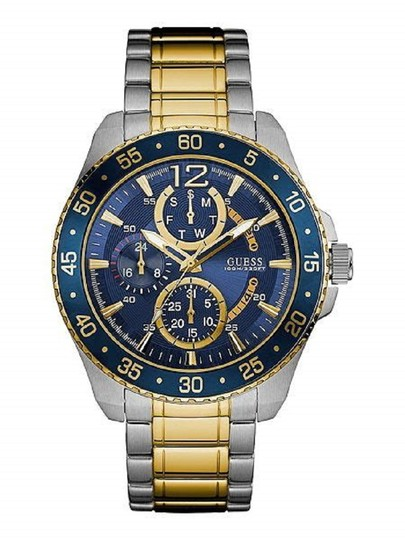 Preload https://img-static.tradesy.com/item/22855964/guess-blue-mens-jet-multi-sport-2-tone-w0797g1-watch-0-0-540-540.jpg