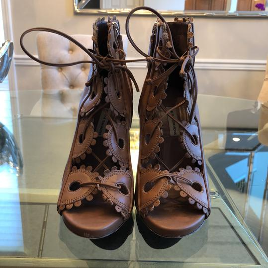 Tabitha Simmons Toffee Sandals