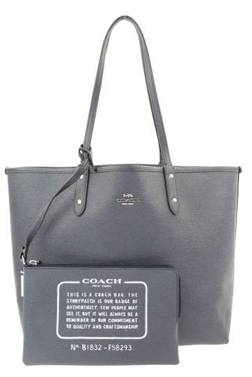 Preload https://item4.tradesy.com/images/coach-city-reversible-blue-coated-canvas-tote-22855973-0-2.jpg?width=440&height=440