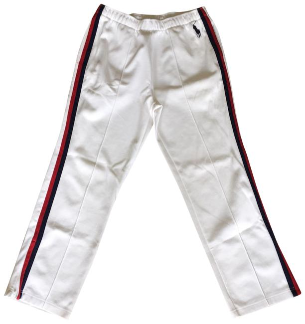 Preload https://item5.tradesy.com/images/polo-ralph-lauren-white-double-knit-track-size-8-m-29-30-22855989-0-1.jpg?width=400&height=650