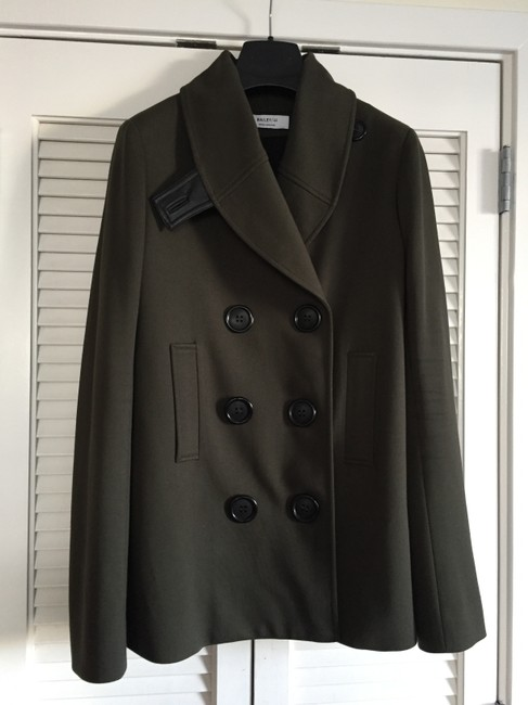 Bailey 44 Peacoat Double Breasted Military Jacket