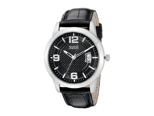 Preload https://item1.tradesy.com/images/guess-black-men-quartz-analog-date-leather-u0494g6-watch-22856005-0-0.jpg?width=440&height=440