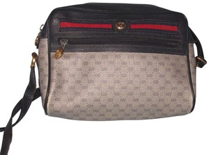 Preload https://item1.tradesy.com/images/gucci-vintage-pursesdesigner-purses-navy-blue-small-g-logo-print-coated-canvas-and-leather-with-redb-22856020-0-1.jpg?width=440&height=440
