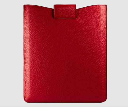 Gucci Red Soho leather iPad case tech accessory