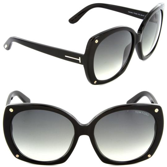 Tom Ford Tom Ford FT0362 01B Gabriella Black Sunglasses NEW!