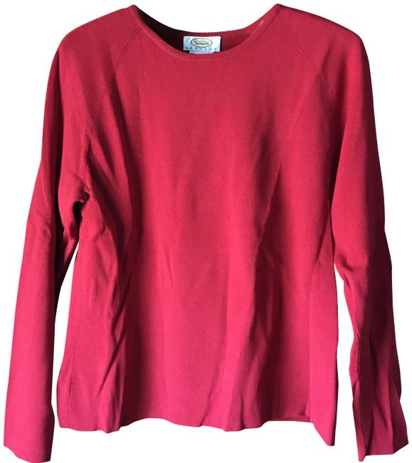 Preload https://img-static.tradesy.com/item/22856084/talbots-crewneck-large-petite-cinnamon-red-sweater-0-1-650-650.jpg