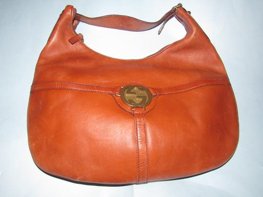 Gucci Mint Vintage Equestrian Accents Reins Britt Blondie Xl Size Perfect For Everyday Hobo Bag