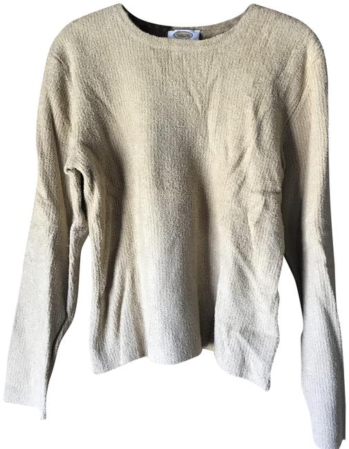 Preload https://img-static.tradesy.com/item/22856117/talbots-crewneck-large-tan-sweater-0-1-650-650.jpg