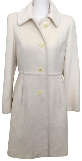 Preload https://item1.tradesy.com/images/anne-klein-cream-coat-size-8-m-22856160-0-1.jpg?width=400&height=650