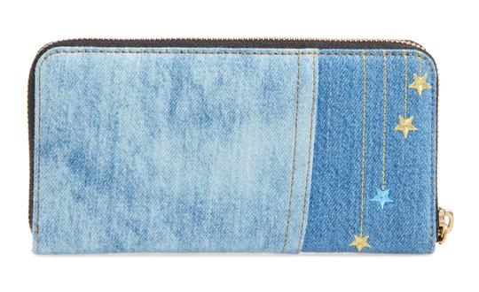 Marc Jacobs Marc Jacobs Julie Verhoeven Standard Denim Continental Purse Wallet