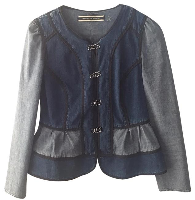 Preload https://img-static.tradesy.com/item/22856206/daughters-of-the-liberation-denim-jacket-size-4-s-0-1-650-650.jpg