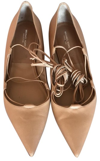 Preload https://img-static.tradesy.com/item/22856279/michael-kors-collection-toffee-tan-kallie-leather-lace-up-flats-size-us-9-regular-m-b-0-1-540-540.jpg