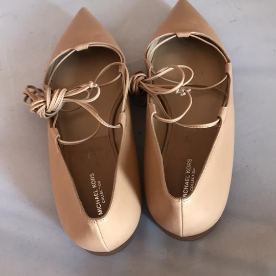 Michael Kors Collection Toffee Tan Flats