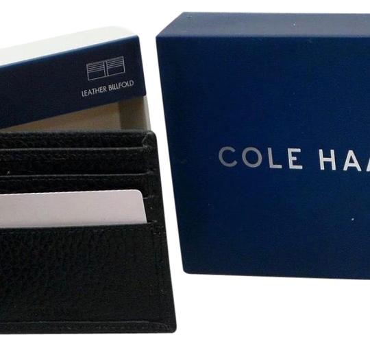 Preload https://img-static.tradesy.com/item/22856290/cole-haan-black-new-pebble-leather-slim-bifold-men-s-style-chdm21009l-wallet-0-1-540-540.jpg